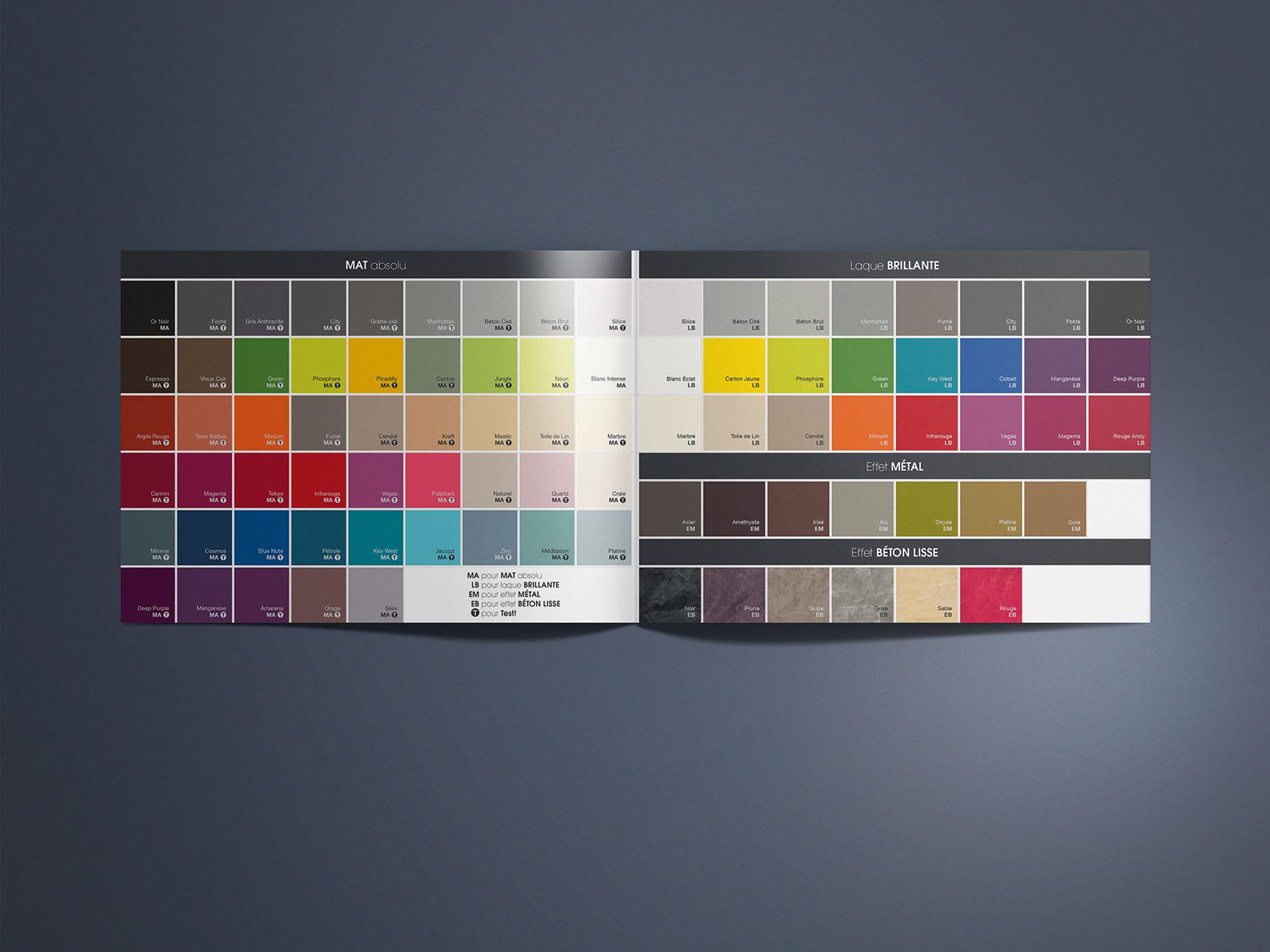 Architecte nuancier couleur agence sp cialis e dans la - Peinture architecte nuancier ...