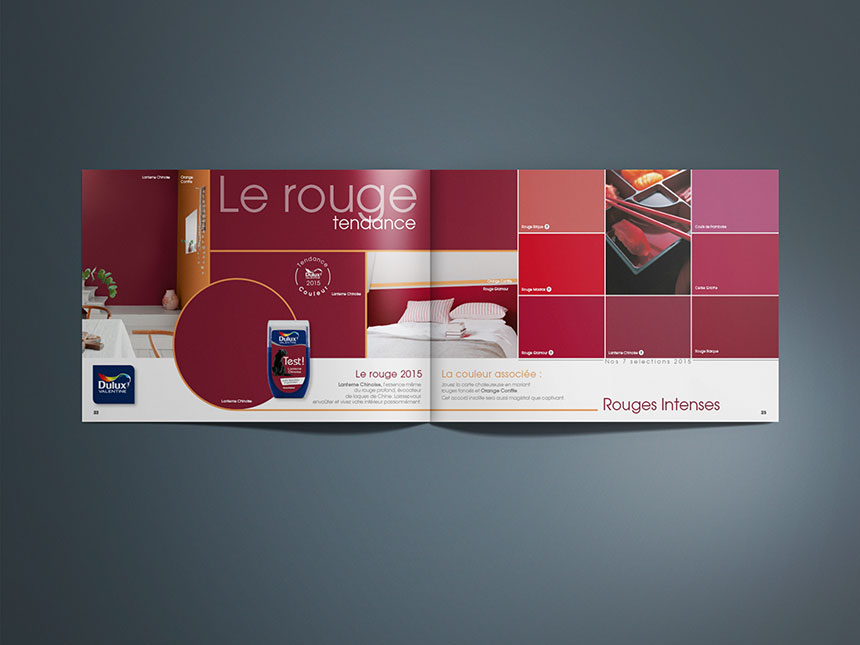 DULUX VALENTINE Let's Colour, nuancier couleur - Agence ...