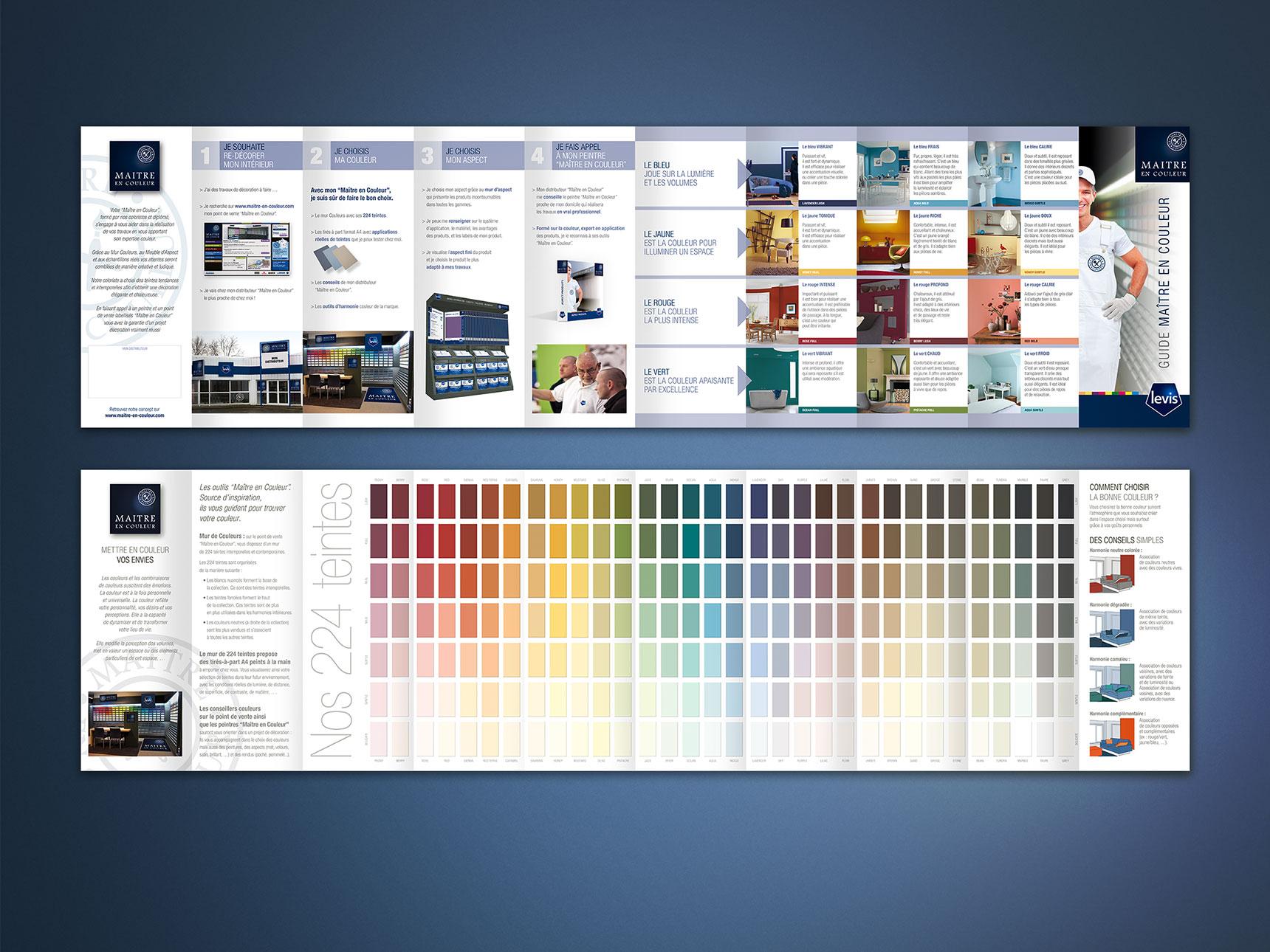 Très MAÎTRE en COULEUR, nuancier couleur - Agence spécialisée dans la  XH72