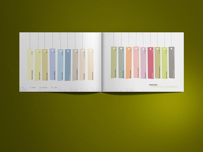 v33 essensia nuancier couleur agence sp cialis e dans la couleur la communication visuelle. Black Bedroom Furniture Sets. Home Design Ideas