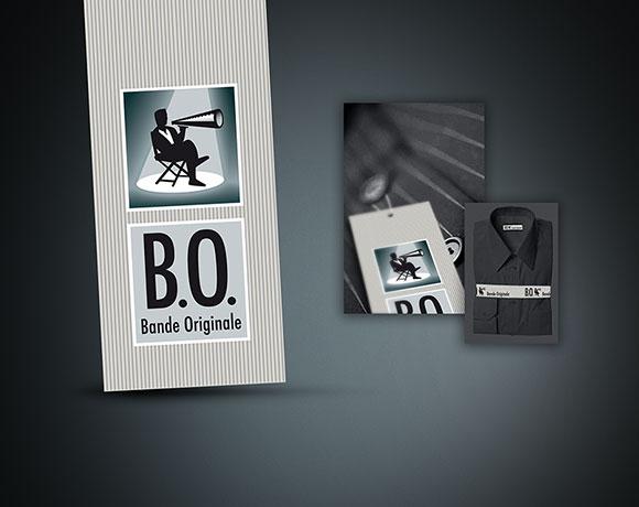B.O., logo marque textile
