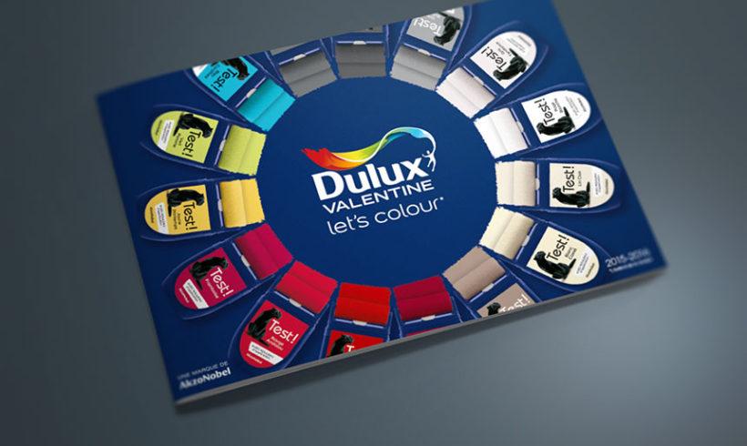 DULUX VALENTINE Let's Colour, nuancier couleur