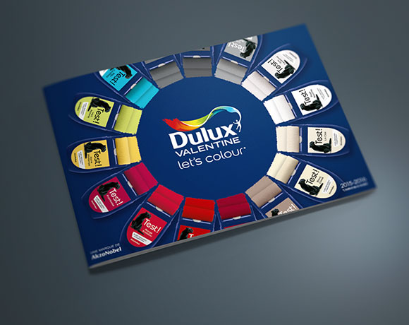 DULUX VALENTINE Let's Colour, nuancier couleur