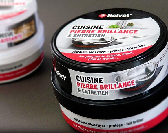 HELVET' Entretien, packaging GSB