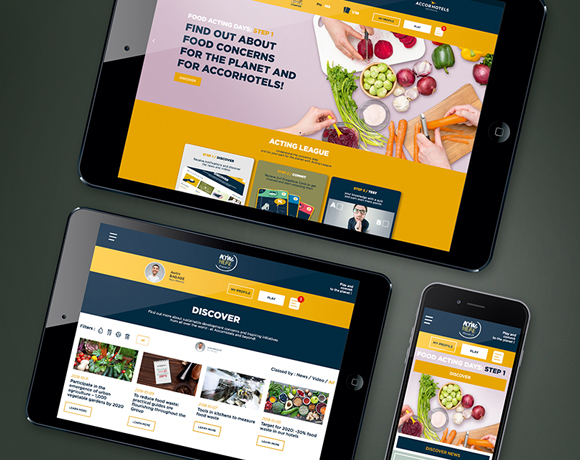 ACCORHOTELS, site web & apps