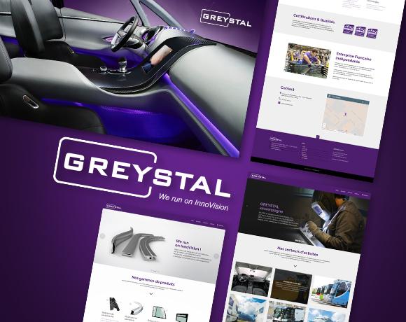GREYSTAL, identité & digital